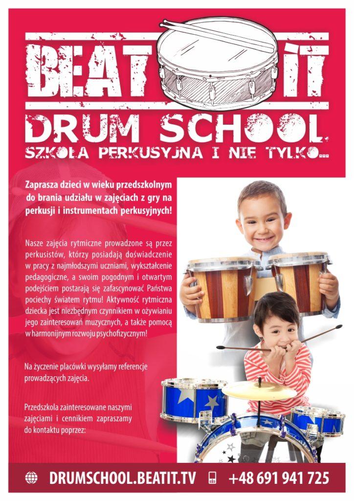 lekcje rytmiki dla przedszkolaków