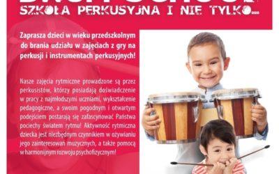 Zajęcia z perkusji dla najmłodszych