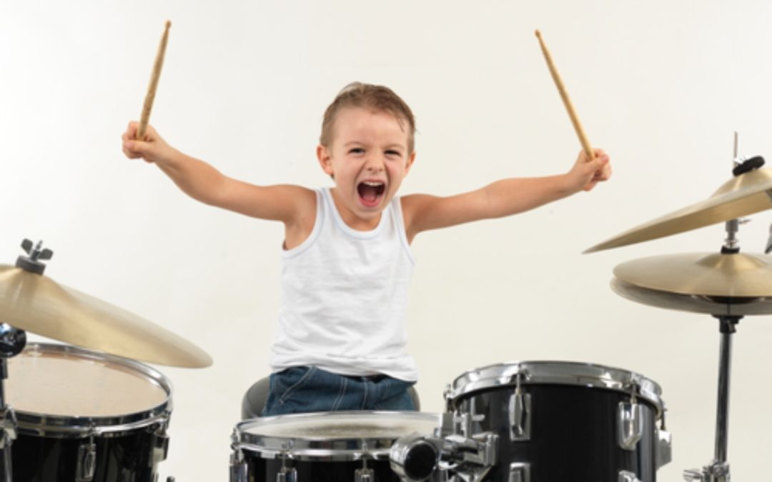 Autyzm a nauka gry na perkusji
