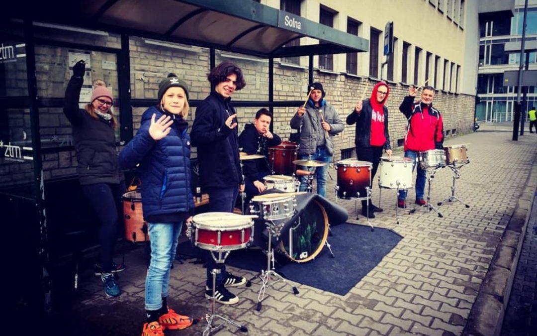 Nasza szkoła perkusyjna na 12 PKO połmaratonie!