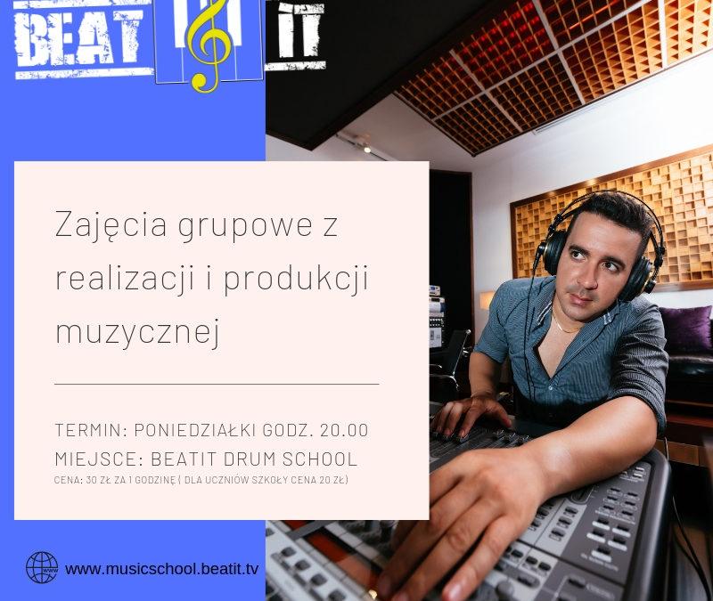 Grupowe warsztaty z realizacji i produkcji muzyki
