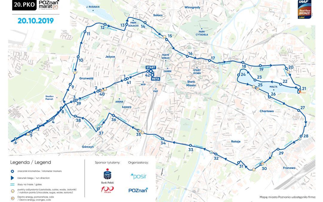 Nasza szkoła na 20. PKO Poznań Maraton im. Macieja Frankiewicza